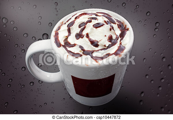 A cup of ice cream - csp10447872