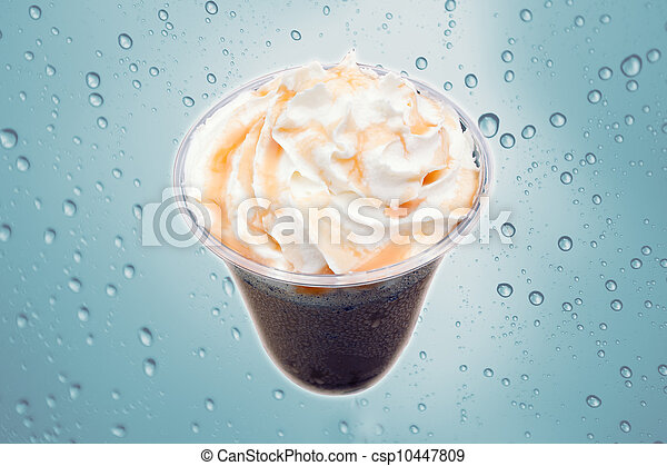 A cup of ice cream - csp10447809