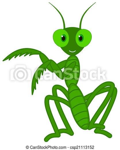 a cute grasshopper dance - csp21113152
