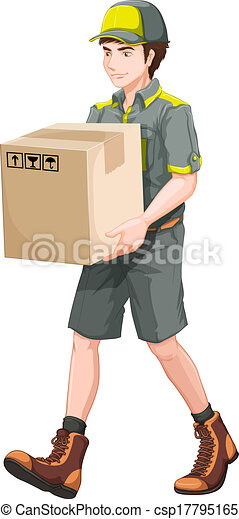 A delivery man - csp17795165