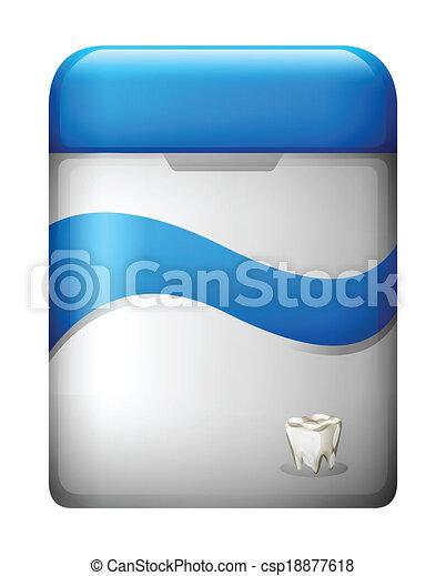 A dental floss - csp18877618