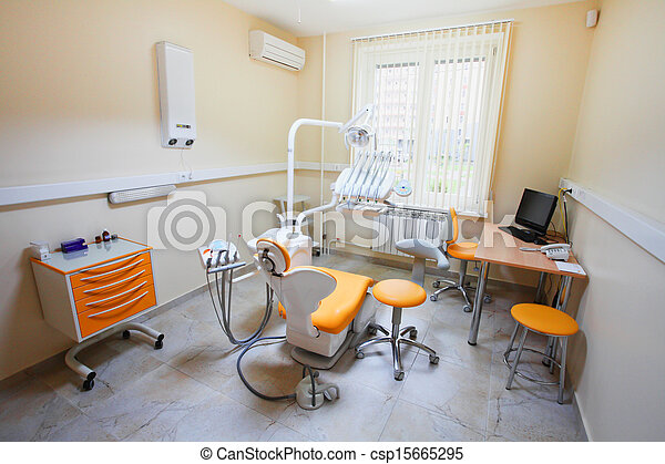 a dental room - csp15665295