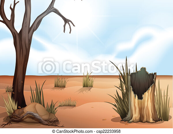 A desert - csp22233958