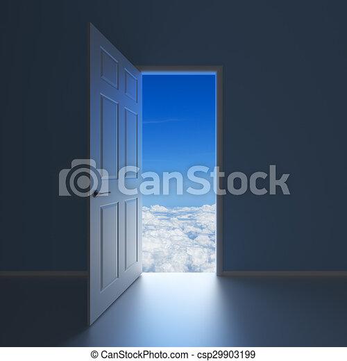 A doorway to Heaven - csp29903199