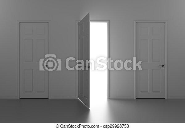 A doorway to the Light - csp29928753