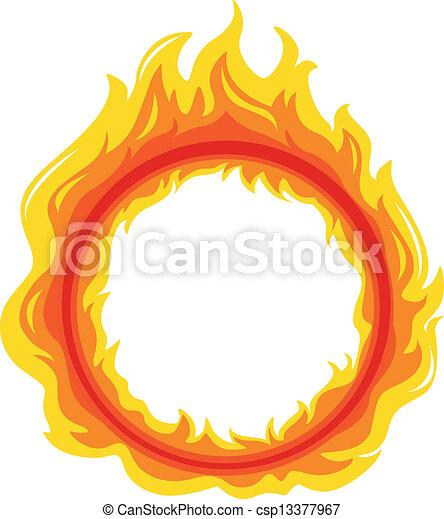 A fireball - csp13377967