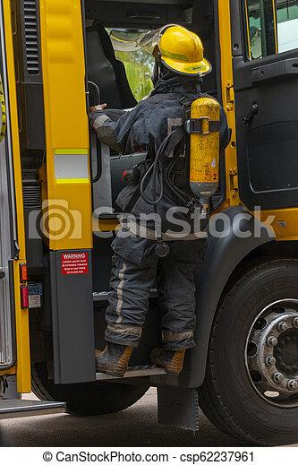 A firemen - csp62237961