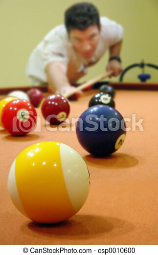 A game of pool - csp0010600