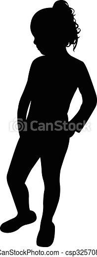 a girl body - csp32570887