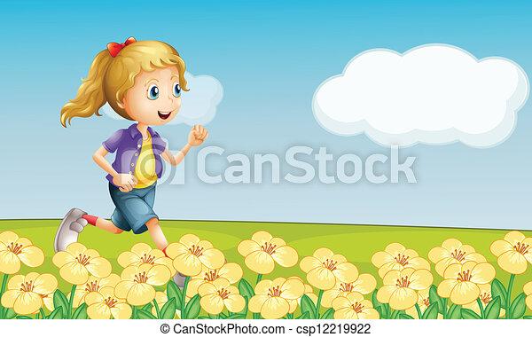 A girl - csp12219922