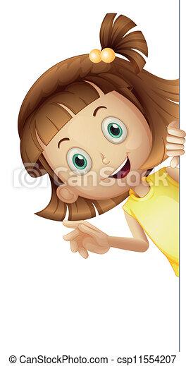 a girl - csp11554207