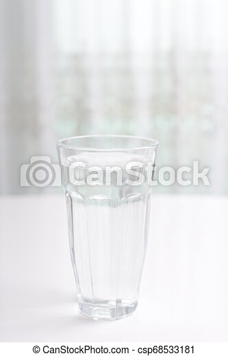 A glass of water - csp68533181