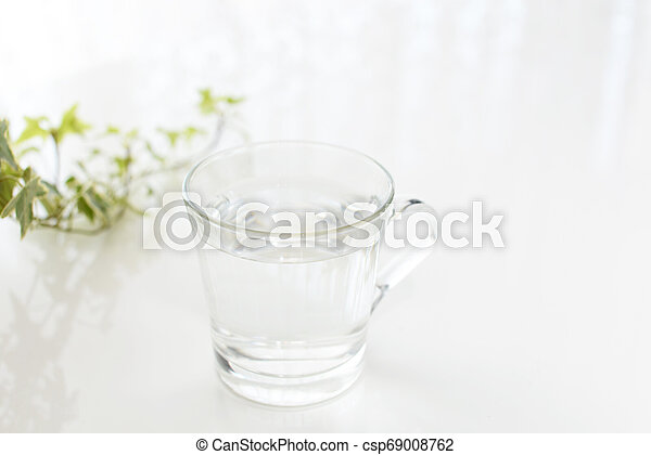 A glass of water - csp69008762