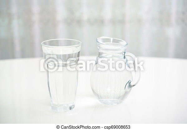 A glass of water - csp69008653