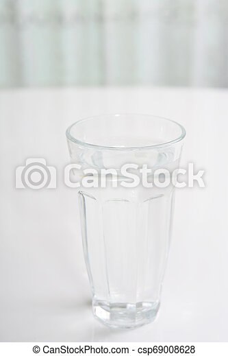 A glass of water - csp69008628