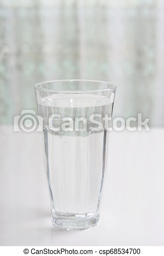 A glass of water - csp68534700