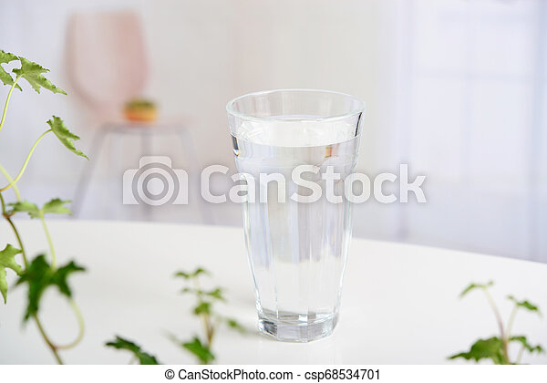 A glass of water - csp68534701