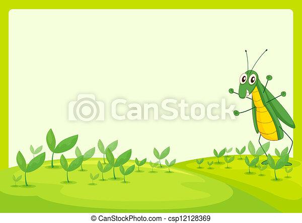 A grasshopper - csp12128369