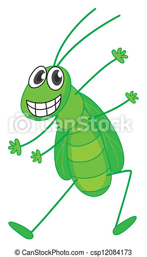 A grasshopper - csp12084173