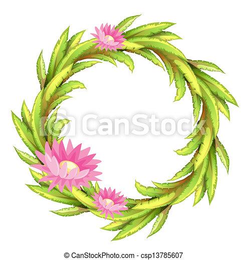 Flower border clipart pink best flower 2017 rose flower border clip art 33 mightylinksfo Images
