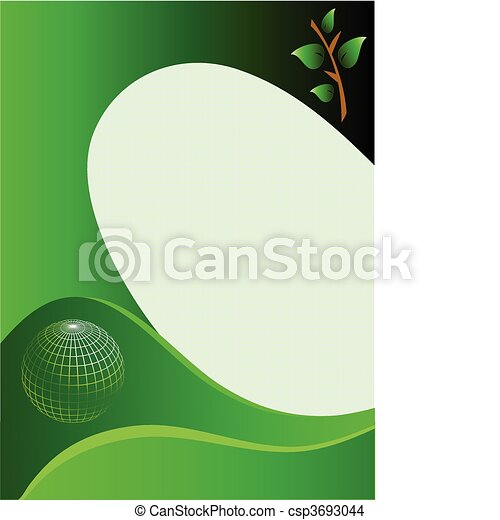 A green business card template a green and white abstract vector a green business card template csp3693044 friedricerecipe Images