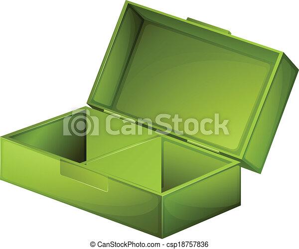 A green medical box - csp18757836
