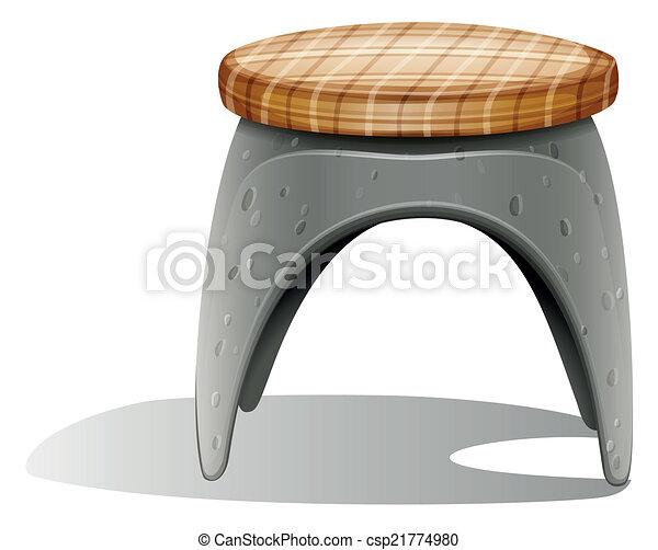 A grey furniture - csp21774980