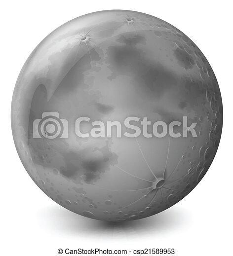 A grey planet - csp21589953