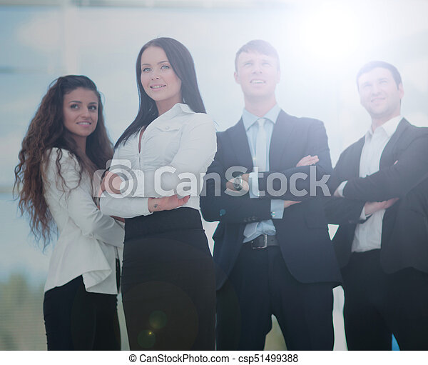 A group of successful business people - csp51499388