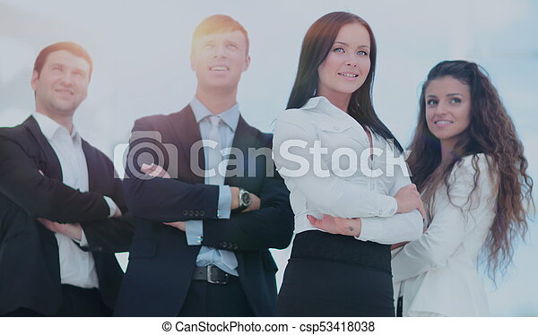 A group of successful business people - csp53418038