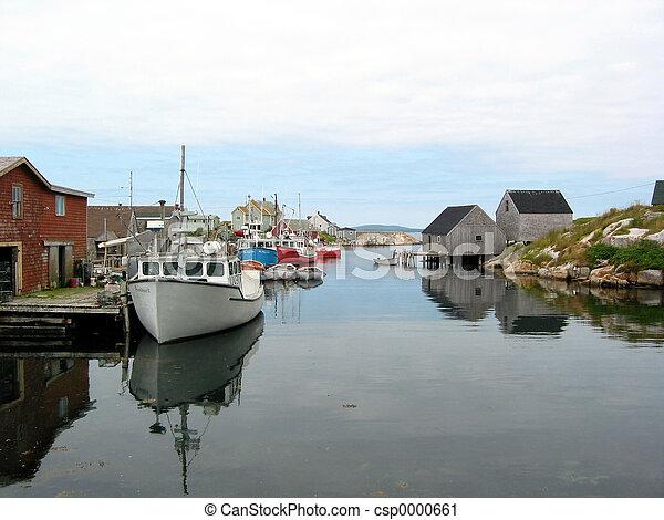 A harbour - csp0000661