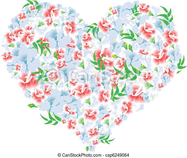 a heart - csp6249064