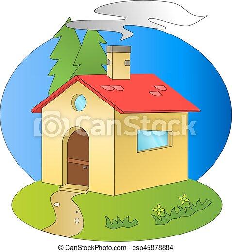 A home - csp45878884