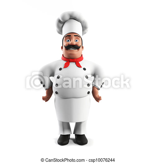 A kitchen chef - csp10076244