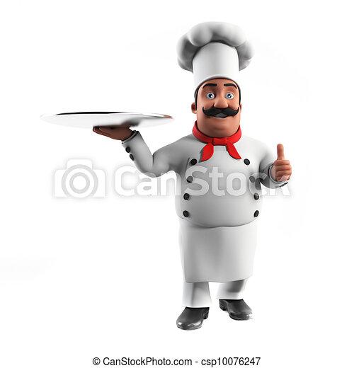 A kitchen chef - csp10076247