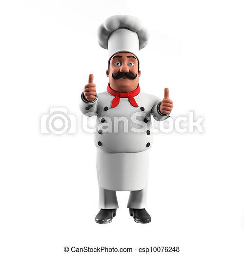 A kitchen chef - csp10076248