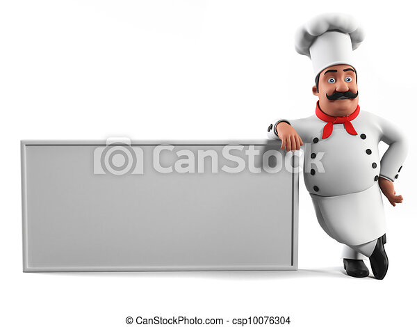 A kitchen chef - csp10076304