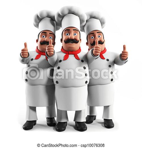 A kitchen chef - csp10076308
