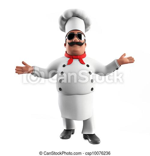 A kitchen chef - csp10076236