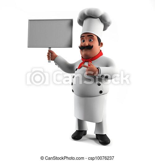 A kitchen chef - csp10076237