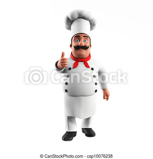 A kitchen chef - csp10076238