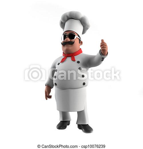 A kitchen chef - csp10076239