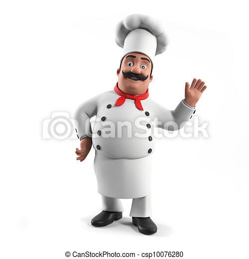 A kitchen chef - csp10076280
