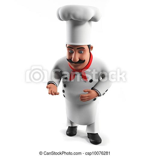 A kitchen chef - csp10076281