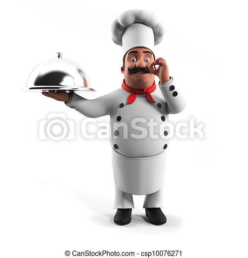 A kitchen chef - csp10076271