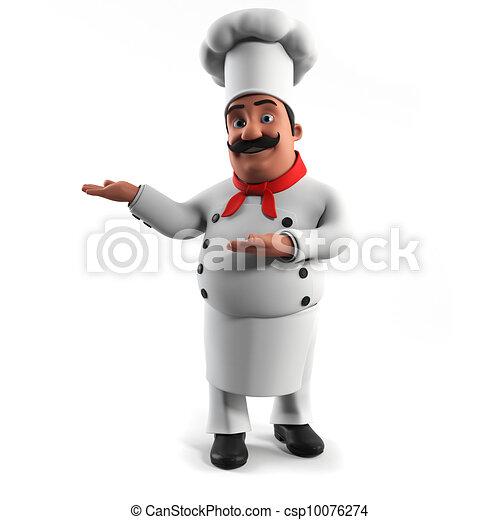 A kitchen chef - csp10076274