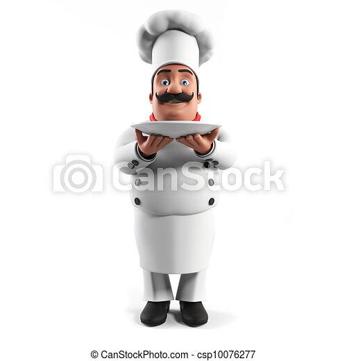 A kitchen chef - csp10076277