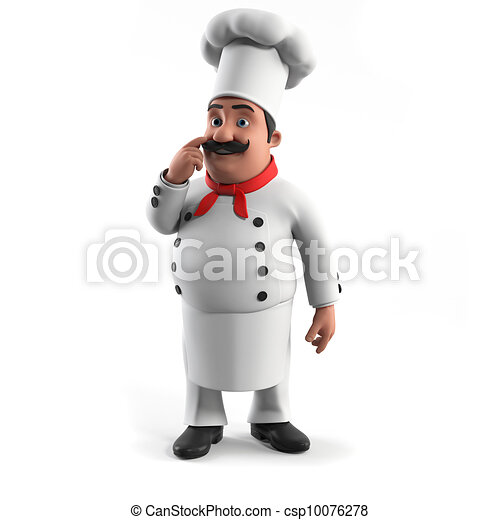A kitchen chef - csp10076278