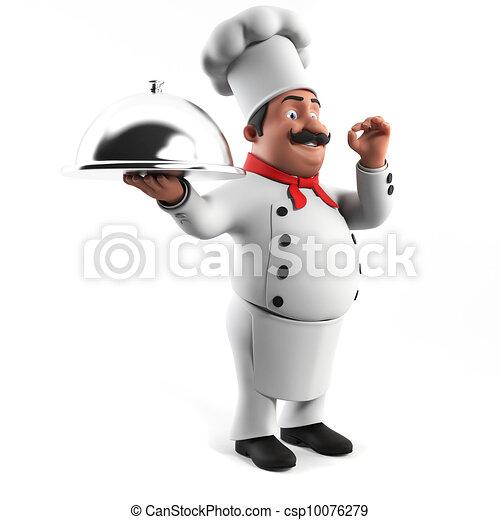 A kitchen chef - csp10076279