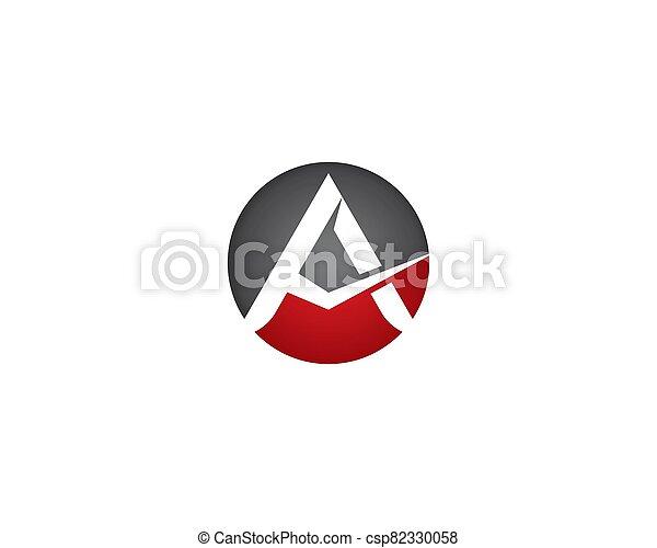 A letter logo vector icon - csp82330058